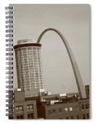 St. Louis - Gateway Arch Spiral Notebook