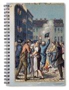 Stamp Act Riot, 1765 Spiral Notebook