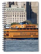 Staten Island Ferry Spiral Notebook