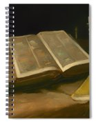 Still Life With Bible Spiral Notebook