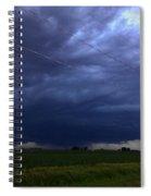Stong Nebraska Supercells Spiral Notebook