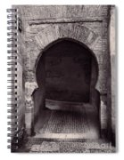 Street In Historic Albaycin In Granada Spiral Notebook