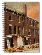Stripped Spiral Notebook