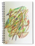 Subconscious Thought No. 1 Spiral Notebook