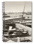 Suez Canal Port Said Spiral Notebook
