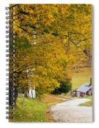 Sugar Mill Vermont Spiral Notebook