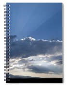 Summer Clouds Spiral Notebook