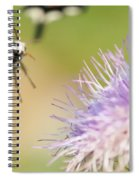 Summer Flowers On Meadow Spiral Notebook