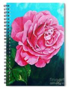 Summer Rose Spiral Notebook