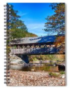 Sunday River Covered Bridge Spiral Notebook