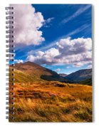 Sunny Day At Rest And Be Thankful. Scotland Spiral Notebook