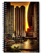 Sunrise At Punta Pacifica Spiral Notebook