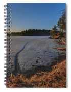 Sunrise On Millsite Lake Spiral Notebook