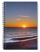 Sunrise Over Atlantic Ocean, Florida Spiral Notebook
