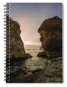 Sunset At Pismo Beach Spiral Notebook