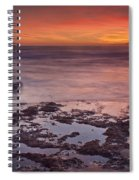Sunset In Marbella Spiral Notebook
