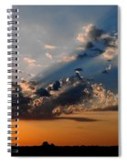 Sunset In Seaford Spiral Notebook