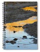 Sunset Reflected In Stream, Arizona Spiral Notebook