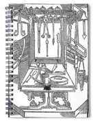 Surgical Instruments Spiral Notebook