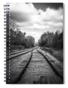 Switching Tracks Leaving Leafing Spiral Notebook