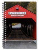 Taftsville Covered Bridge Vermont Spiral Notebook