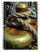 Tall Ship Rigging Spiral Notebook