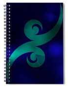 Tattoo Abstract Spiral Notebook
