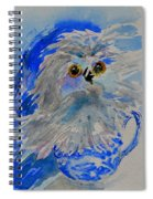 Teacup Owl Spiral Notebook