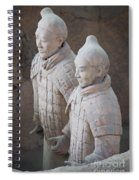 Terracotta Warriors, China Spiral Notebook