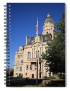 Terre Haute Indiana - Courthouse Spiral Notebook