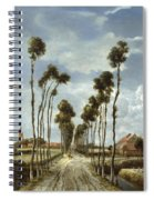 The Avenue At Middelharnis Spiral Notebook
