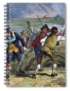 The Battle Of Concord, 1775 Spiral Notebook