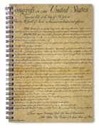 The Bill Of Rights, 1789 Spiral Notebook