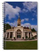 The Castle Of Schwerin Spiral Notebook