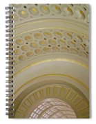 The Ceiling Of Union Station Spiral Notebook