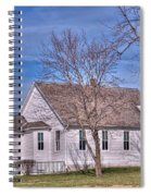 The Church At The Site Of The Old Confederate Soldiers Home Spiral Notebook