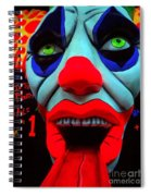 The Clown Spiral Notebook