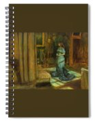 The Eve Of St Agnes Spiral Notebook