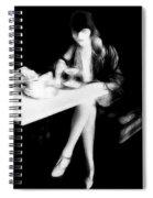 The Flapper Girl Spiral Notebook