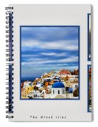 The Greek Isles Spiral Notebook