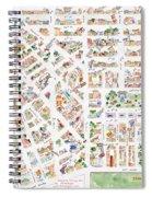 The Greenwich Village Map Spiral Notebook