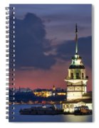 The Maiden's Tower Spiral Notebook