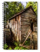 The Mill At Cades Cove Spiral Notebook