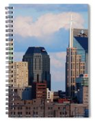 The Nashville Skyline As Viewed Spiral Notebook