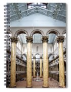The National Building Museum In Washington Dc Usa Spiral Notebook