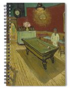 The Night Cafe Spiral Notebook