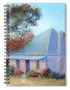 The Old Farm House Spiral Notebook