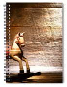 The Old Rocking Horse In The Attic Spiral Notebook