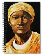 The Orange Garments Spiral Notebook
