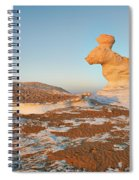 The Rabbit Stone Formation In White Desert Spiral Notebook